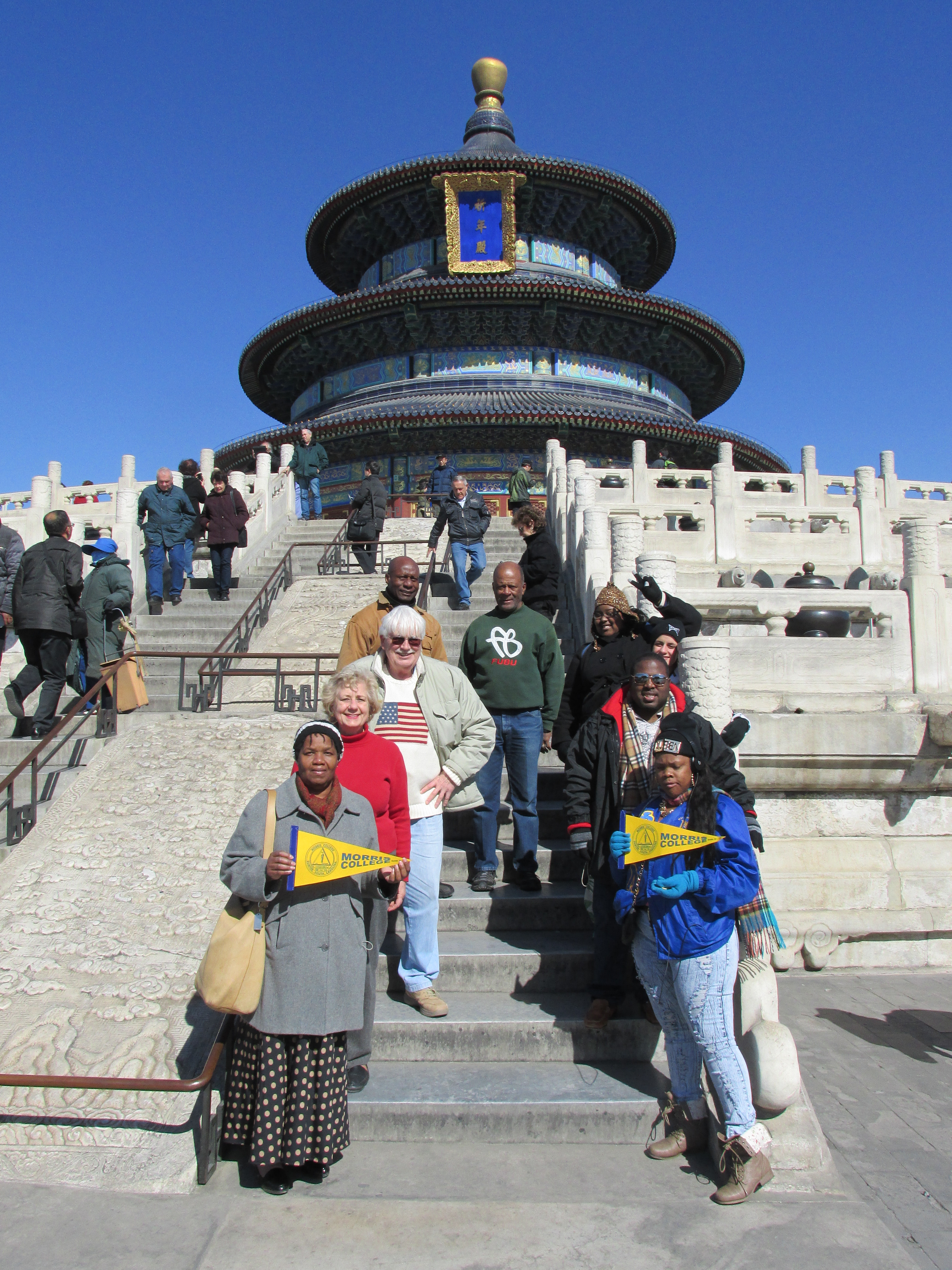 Students on a Travel Abroad trip