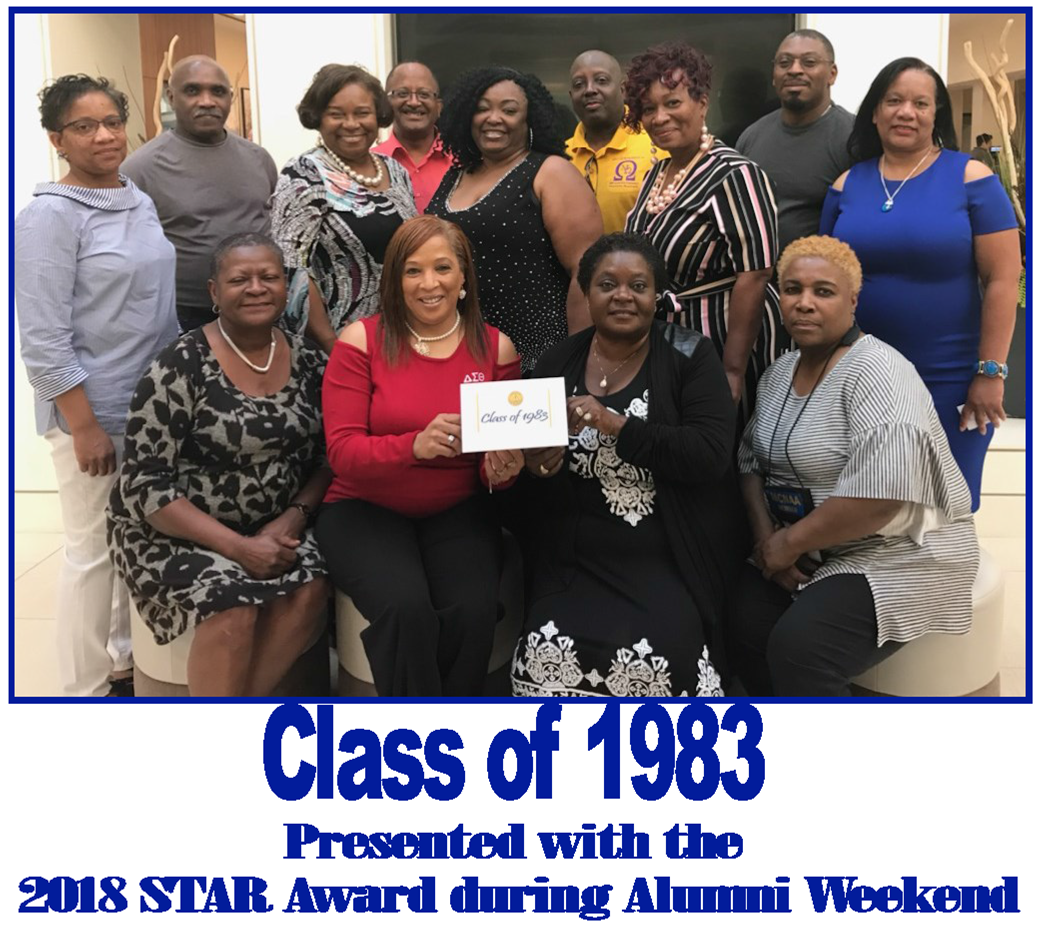 Class of 1983 - Presented with the 2018 STAR Award during Alumni Weekend